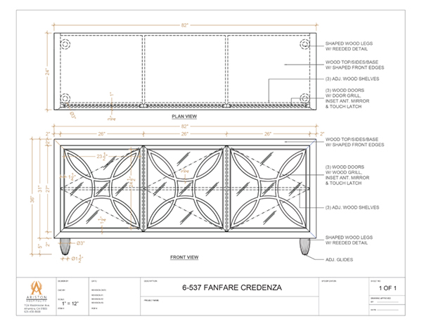 Download Fanfare CAD Drawing Image